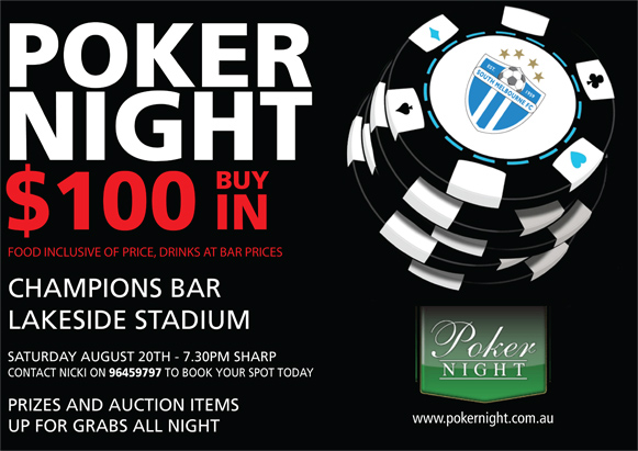 Poker melbourne 2018