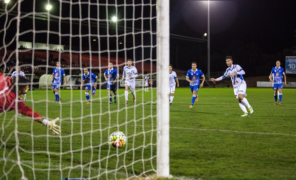 Nick Epifano penalty kick against Avondale FC