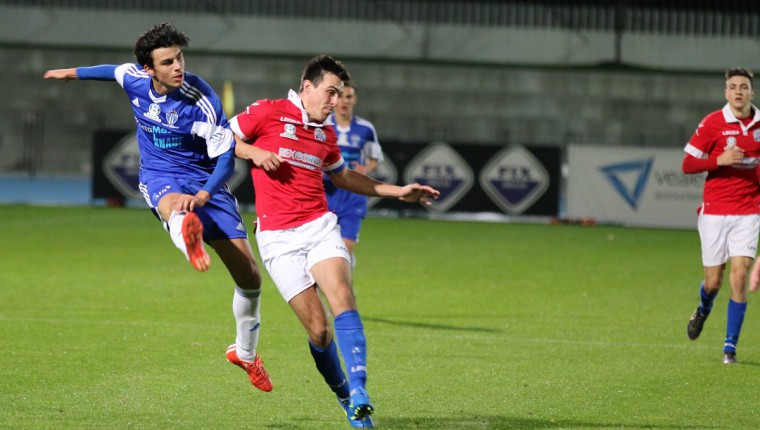 Guiseppe Marafioti starred for South Melbourne FC Under 20s in the 0-0 draw with North Geelong Warriors