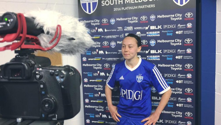 Rebecca Lee talks to SMFC TV