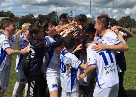 U13s Champions at Murray United (5-2)