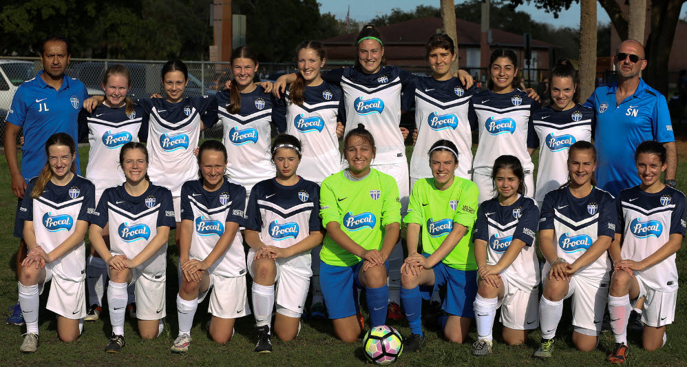 South Melbourne FC Under 19 (USA International Tour Squad)