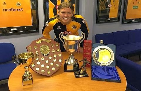 Piergianni's Clean Sweep of awards during his time at Boston United.