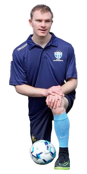 South Melbourne FC Blind Footballer Brendan Spencer - All Abilities Football