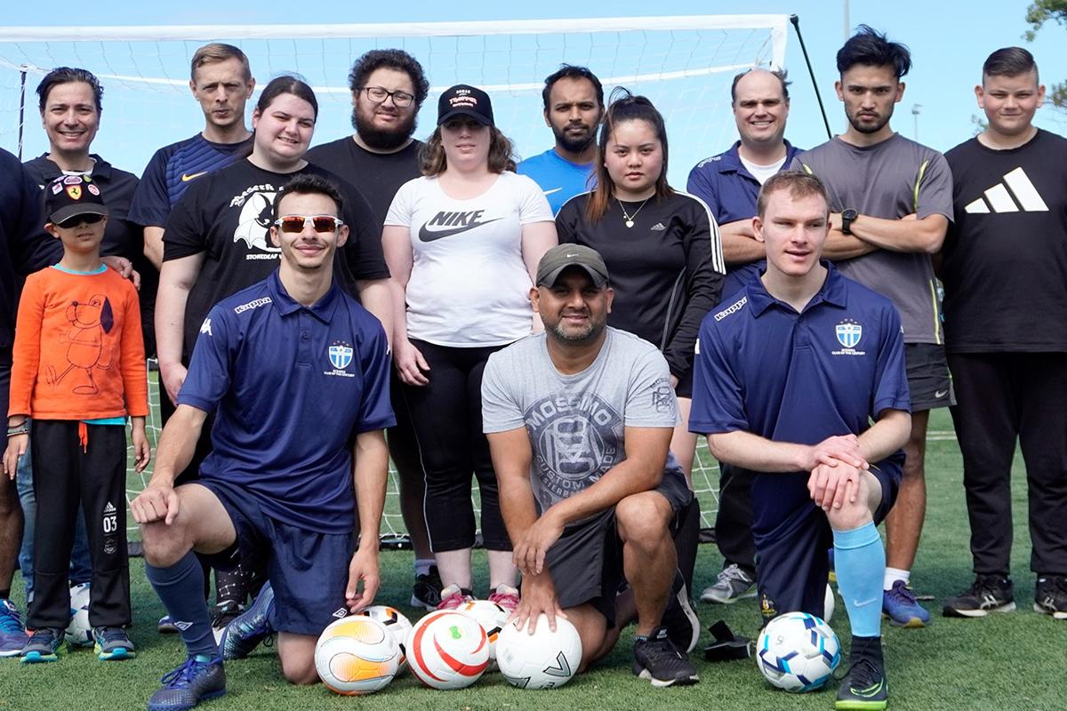 South Melbourne FC All Abilities Football Program