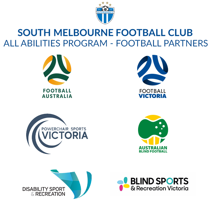 South Melbourne FC All Abilities Program Football Partners