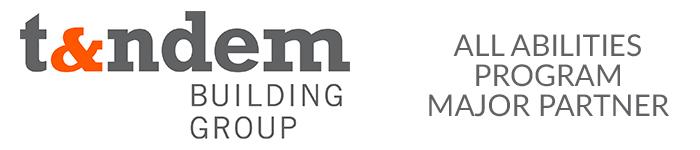 Tandem Building Group logo - All Abilities Football Program major partner