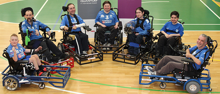 South Melbourne Powerchair Football Team 2021 Player Photo