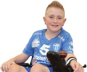 South Melbourne FC Powerchair Footballer Angus Lloyd